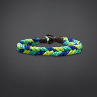 Braided Pop-Color Bracelet