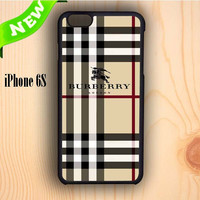 Dream colorful Burberry Pattern London iPhone 6S Case