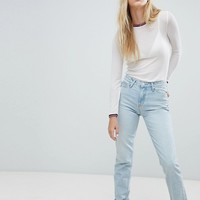 Lee Highwaisted Mom Jean at asos.com