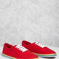 Rainbow Stripe Sneakers