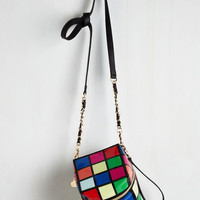 80s Right on Cube Bag by Betsey Johnson from ModCloth