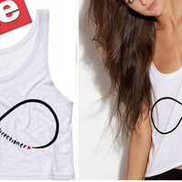 One Direction Infinite Directioner Cropped Tank Top