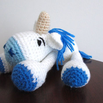 Crochet Unicorn, Amigurumi Unicorn, Unicorn plush toy, Crochet toys, Stuffed animal, Plush unicorn, Crochet doll, Amigurumi crochet animals