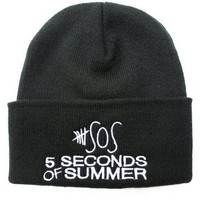 Hip Mall 5 Seconds of Summer Knit Beanie Hat = 1958139012