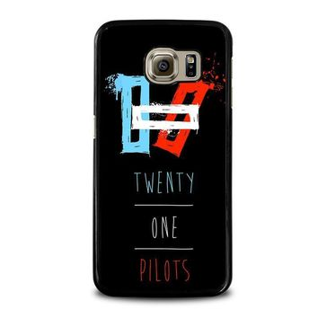 twenty one pilots symbol samsung galaxy s6 case cover  number 1