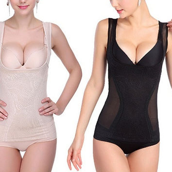 Sexy Body Sculpting Vest NEW Slimming Control Body Shaper Underbust Bustier HT = 1933095236