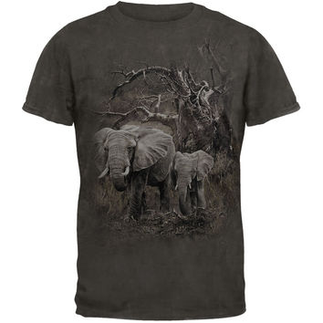 Elephants Tie Dye T-Shirt