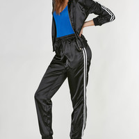 Smooth Ride Satin Track Suit