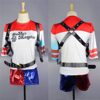 Women Ladies Clothes Shorts Suicide Squad Harley Quinn Halloween Cosplay Costume Women Shorts