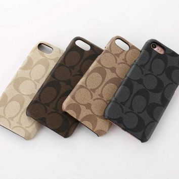 Day-First™ COACH iPhone Phone Cover Case For iphone 6 6s 6plus 6s-plus 7 7plus Protective Case
