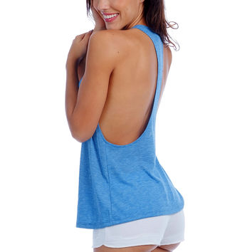Knit Style T-Back Tank Top