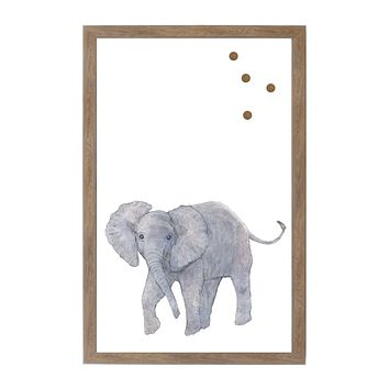 Baby Jungle Animals Elephant Magnet Board