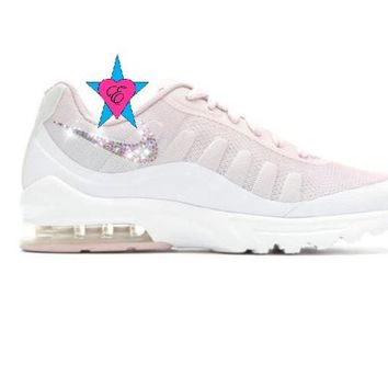 Rhinestone Swoosh Nike Shoes Women Rose Nike Air Max Invigor Pri 4019158dc
