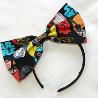 Star Wars headband + bow