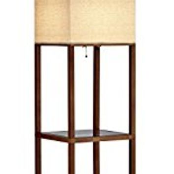 Adesso 3317-15 Crowley Shelf Floor Lamp