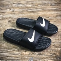 Nike Benassi Swoosh Sandals Style #4 Slippers - Best Online Sale
