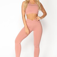 Pump It Up Active Leggings - Pink