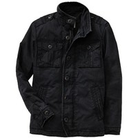 Old Navy Mens Canvas Military Jackets