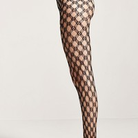Geo Patterned Tights