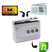 Portable Retro Cassette Player and Converts Cassettes to MP3