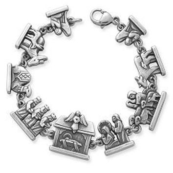 Nativity Link Bracelet | James Avery