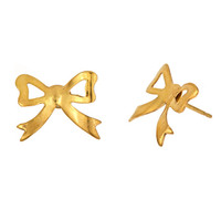 Wedzu: Bow Studs as seen on Gisele Bundchen from EmilyEJewelry