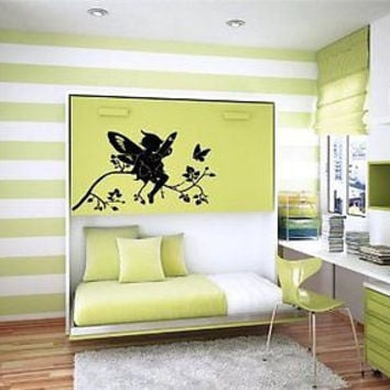 Fairy Tail Tinkerbell Wall Art Sticker Decal t251