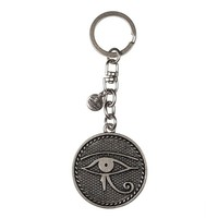 Alex and Ani Eye Of Horus Key Chain - Russian Silver