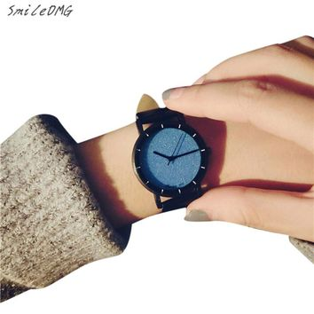 SmileOMG Hot New Lover  Watch Fashion Students Minimalist Trend Temperament Small Dial Couple Watches Art Gift ,Oct 10