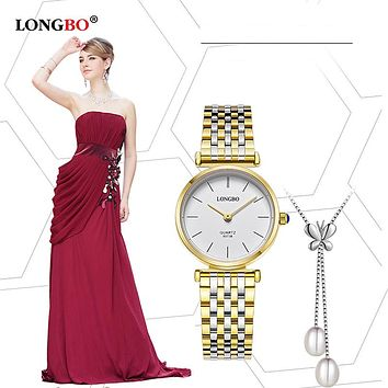 Luxury Brand Fashion Couples Watches Business Style Lovers Men Women Brief Quartz Charms Analog Wristwatches