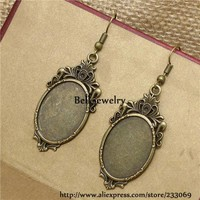 color  Cabochons  Setting  Earring  Cabochon  Cameo