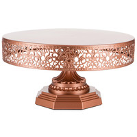 "12"" Metal Wedding Cake Stand 