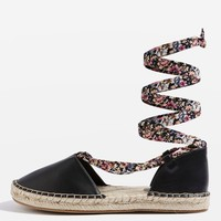 ARIA Two Part Espadrilles - Sale - Sale & Offers