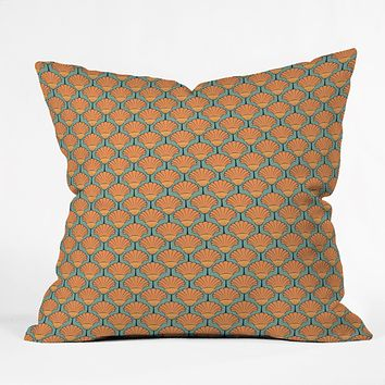 Arcturus Deco Shells Throw Pillow