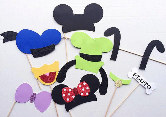 Minnie Mouse Lounge Chair Mickey Mouse And Friends Photo Booth Prop Set Mickey Mouse Clubhouse ...