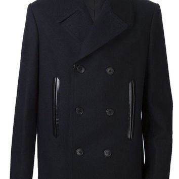 ONETOW balenciaga double breast peacoat 2