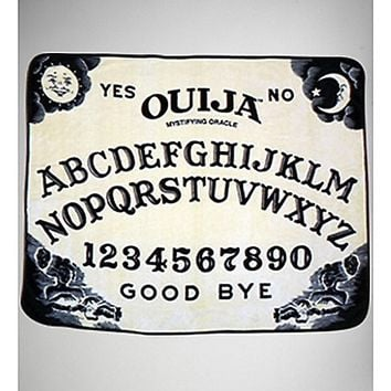 Ouija Board Fleece Blanket - Spencer's