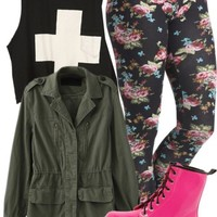 """Polyvore / """"all you had to do is say that I'm sorry;'"""" by laymarie ❤ liked on Polyvore"""