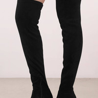 Chinese Laundry Krush Suede Thigh High Boots