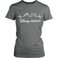 Copy of Disney Addict Tshirt- LADIES