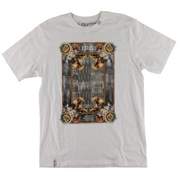 LRG Mens Cotton Graphic T-Shirt
