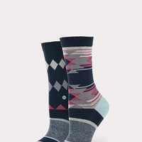 Stance Alter Ego 200 Everyday Girls Socks Navy One Size For Women 26634921001