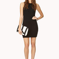 Textured Geo Bodycon Dress