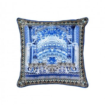 FANCIFUL SMALL SQUARE CUSHION
