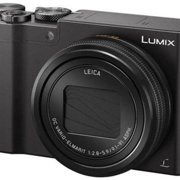 NEW! Panasonic LUMIX 4K Digital Camera ZS100 with 20 Megapixel Sensor, 25-250mm F/2.8-5.9 LEICA DC Lens Zoom, WiFi and Electronic Viewfinder (Black)