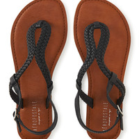 Aeropostale  Braided Loop Sandal