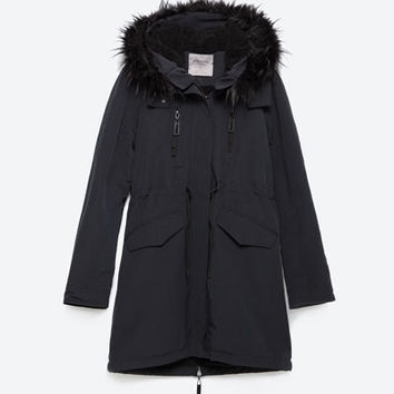 FLEECE LINED PARKA