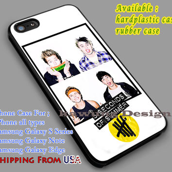 5SOS Michael Clifford, Luke Hemmings iPhone 6s 6 6s+ 5c 5s Cases Samsung Galaxy s5 s6 Edge+ NOTE 5 4 3 #music #5sos dl5
