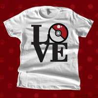 Pokemon Love T Shirt