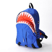 Fashion Personality shark backpack